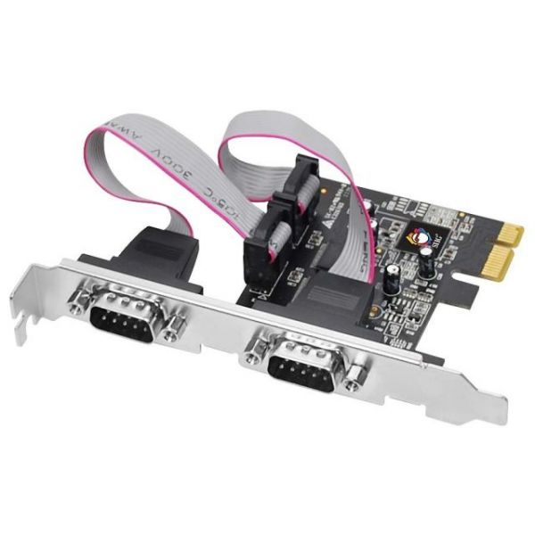 SIIG 2-port PCI Express Serial Adapter