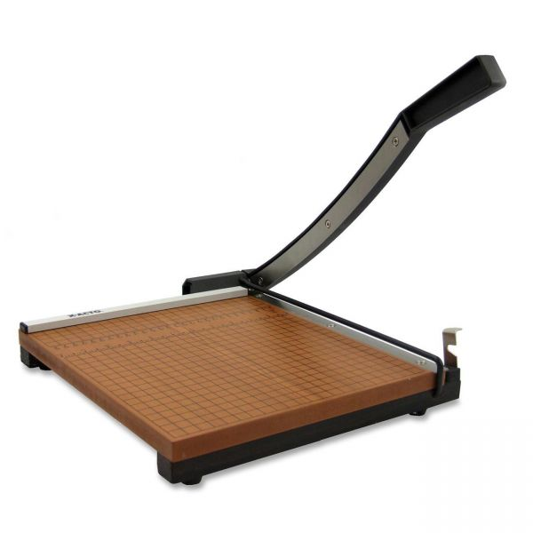 """X-ACTO Wood Base Guillotine 15"""" Paper Cutter"""