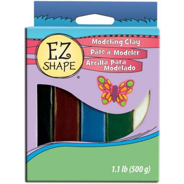 Ez Shape Non-Hardening Modeling Clay 1.1lb 5/Pkg