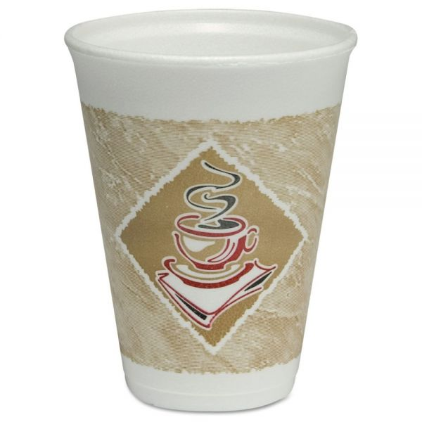 Dart 12 oz Foam Cups