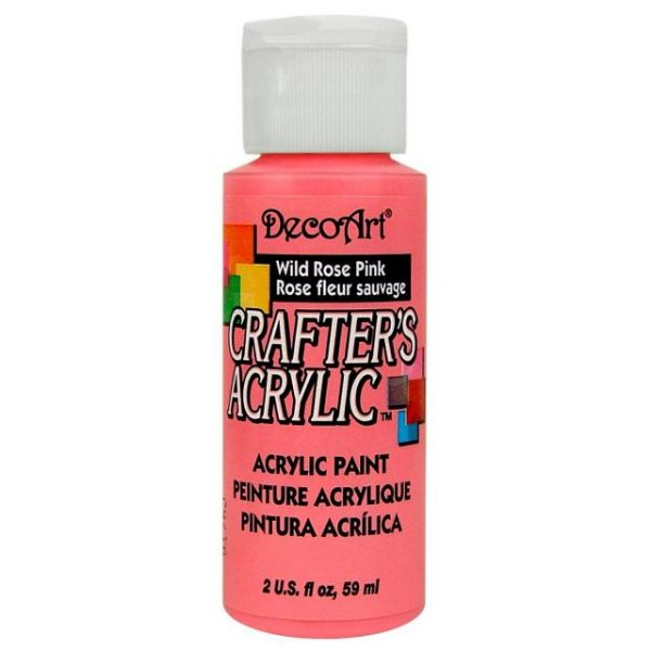 Deco Art Wild Rose Pink Crafter's Acrylic Paint