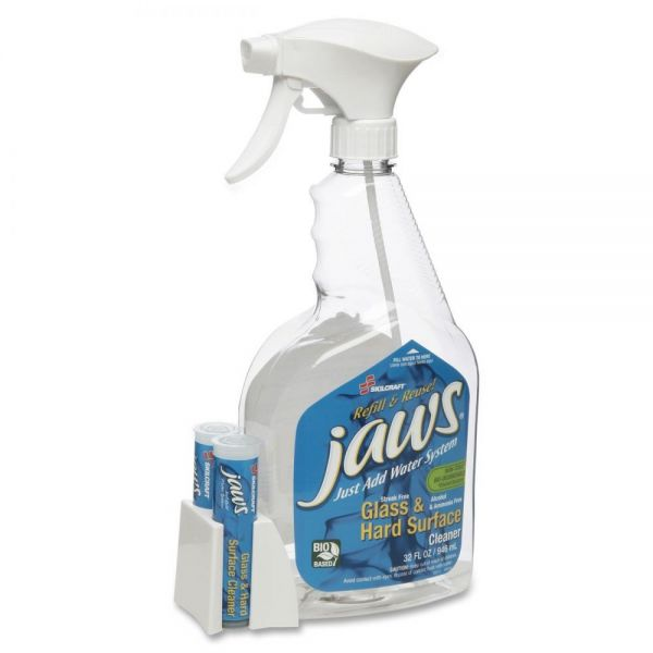 SKILCRAFT JAWS Glass & Hard Surface Cleaner