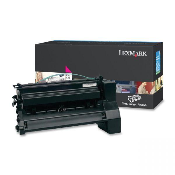 Lexmark C782U1MG Magenta Extra High Yield Return Program Toner Cartridge