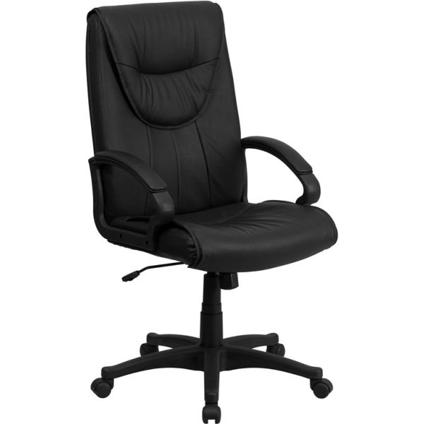 Flash Furniture High Back Executive Swivel Office Chair [BT-238-BK-GG]