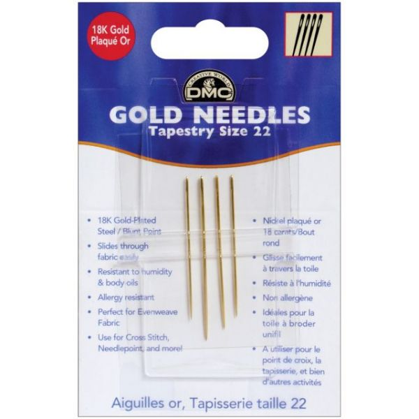 Gold Tapestry Hand Needles