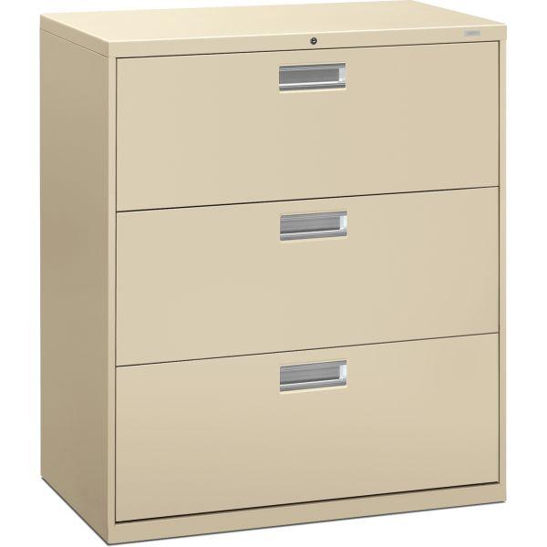 HON 600 Series 3 Drawer File Cabinet