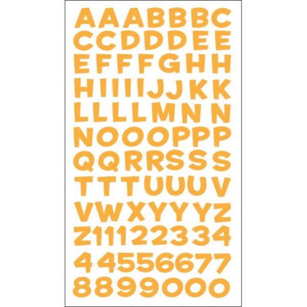 Sticko Alphabet Stickers