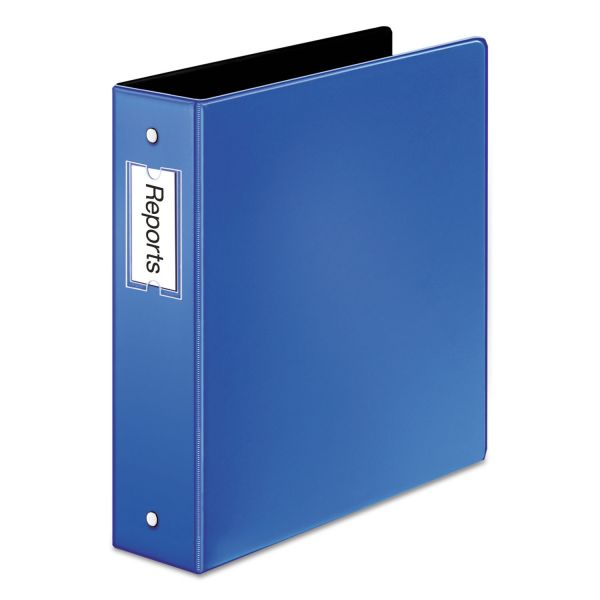 "Cardinal Premier Easy Open Locking 3-Ring Binder, 2"" Capacity, Round Ring, Medium Blue"