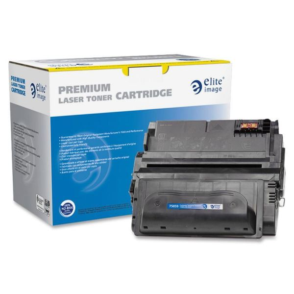 Elite Image Remanufactured HP 38A (Q1338A) Toner Cartridge