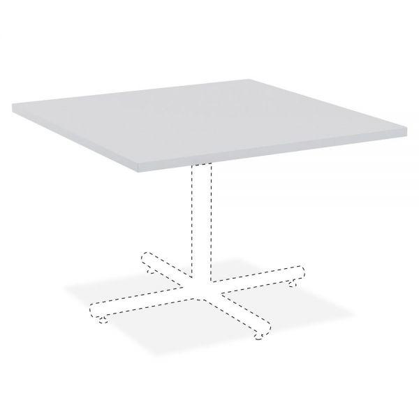 Lorell Hospitality Square Tabletop - Light Gray
