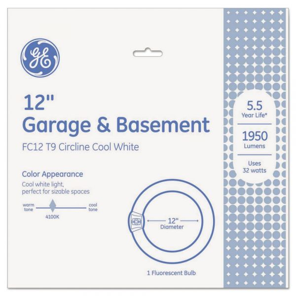 GE Garage & Basement Circline 32 Watt T9 Circline
