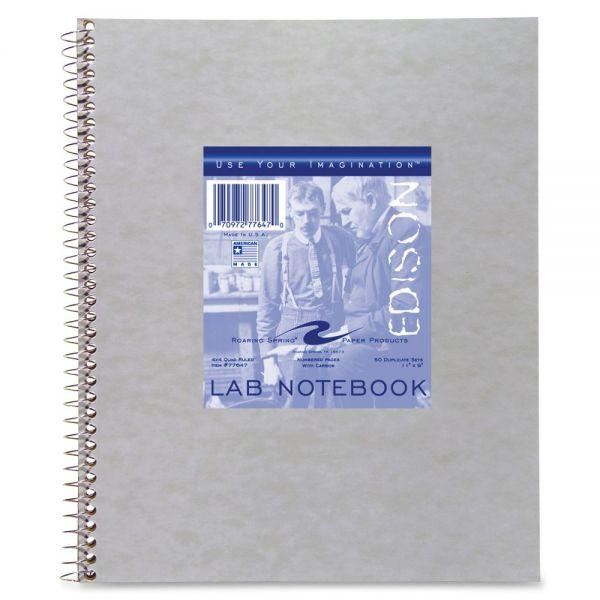Roaring Spring Wirebound Lab Notebook