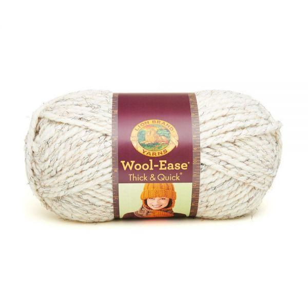 Lion Brand Wool-Ease Thick & Quick Yarn - Wheat