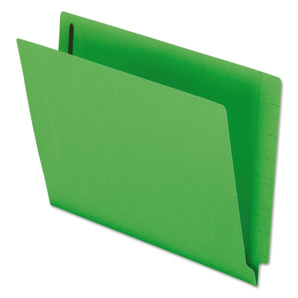 Pendaflex Colored End Tab File Folders with Fasteners