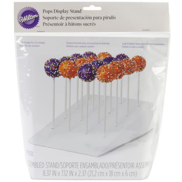 Cake Pops Slanted Treat Stand 1/Pkg
