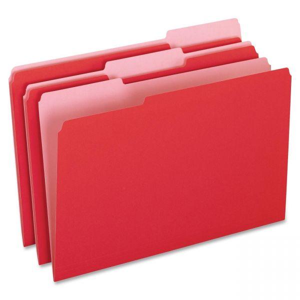 Pendaflex Red Colored File Folders