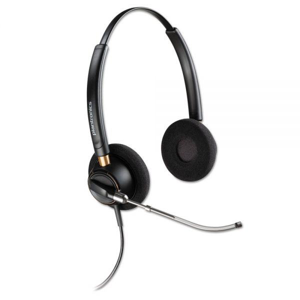 Plantronics EncorePro 520V Binaural Over-the-Head Headset