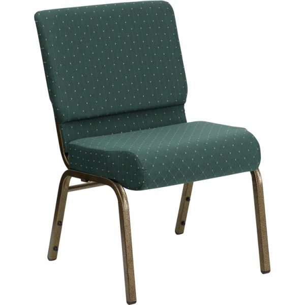 Flash Furniture Green Fabric Big & Tall Church Chair