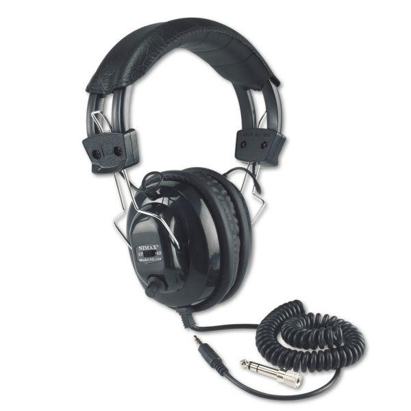 AmpliVox SL1002 Deluxe Stereo Headphones with Mono Volume Control