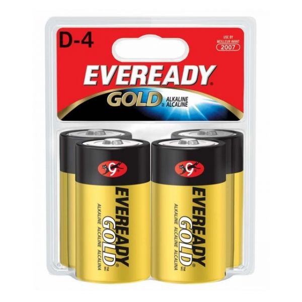 Eveready Gold D Batteries