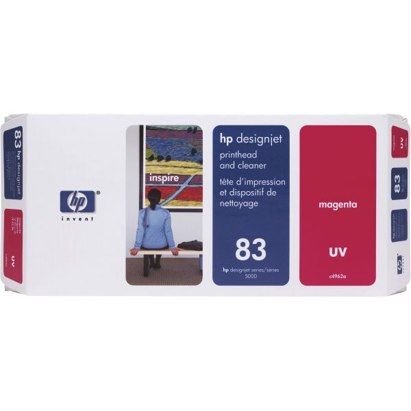 HP 83 UV Magenta Printhead & Cleaner (C4962A)