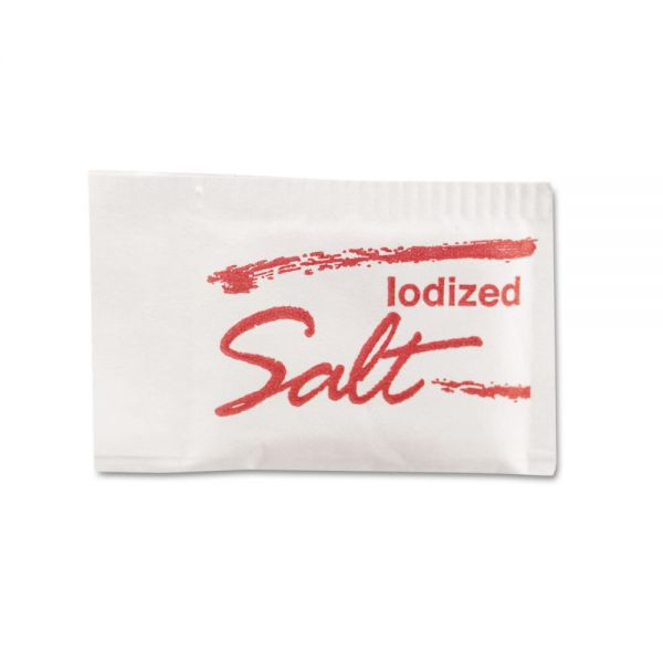 Iodized Salt Packets