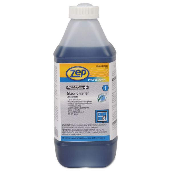 Zep Professional Advantage+ Concentrated Glass Cleaner