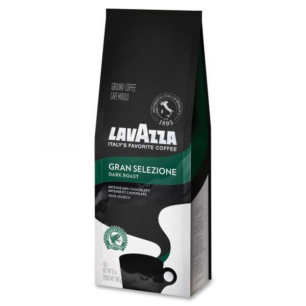 Lavazza Gran Selezione Dark Roast Ground Coffee French Press (3/4 lbs)