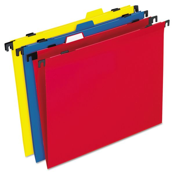 Pendaflex 2-In-1 Poly Hanging File Folders