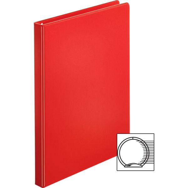 "Business Source 1/2"" 3-Ring Binder"