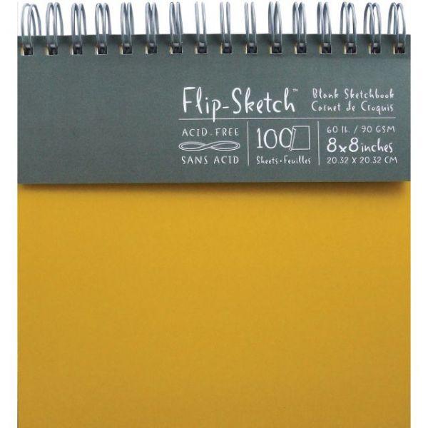 Flip-Sketch Blank Acid Free Spiral Sketch Book