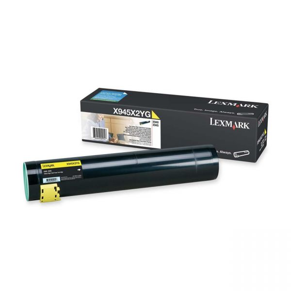 Lexmark X945X2YG Yellow High Yield Toner Cartridge