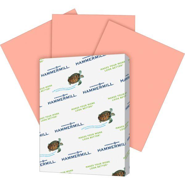 Hammermill Super-Premium Colored Paper - Salmon