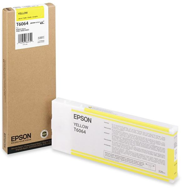 Epson T6064 Yellow Ink Cartridge