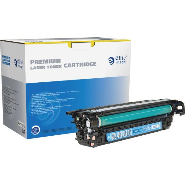 Elite Image Remanufactured HP 646A Cyan Toner Cartridge
