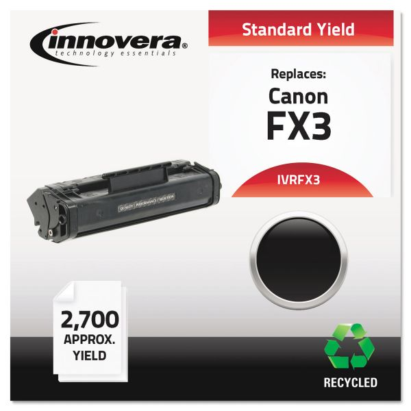 Innovera Remanufactured Canon FX3 (1557A002BA) Toner Cartridge