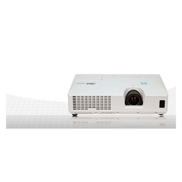 3M X21 Digital Projector, 2700 Lumens, 1024 x 768, White