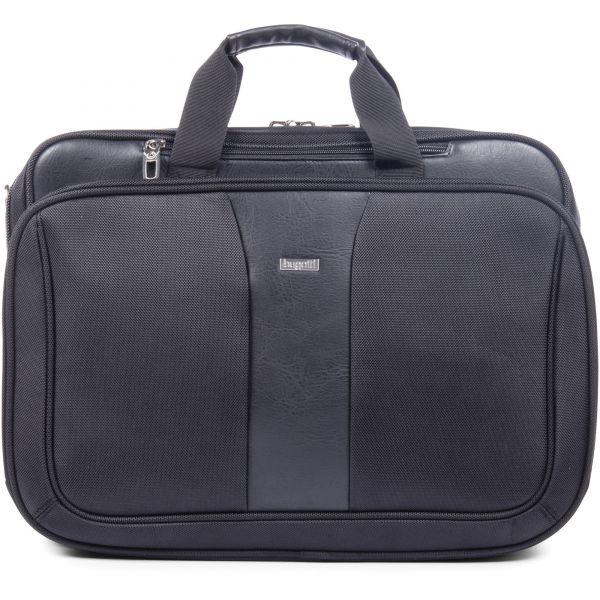 "bugatti Executive Carrying Case (Briefcase) for 17"" Notebook - Black"