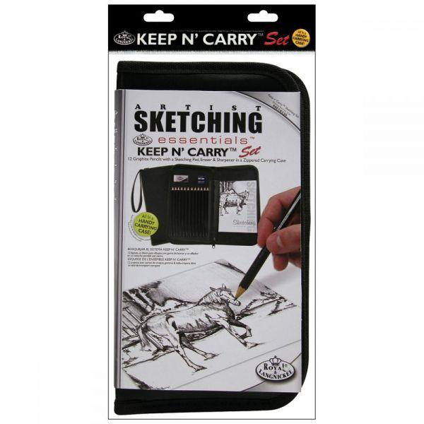 Keep N' Carry Artist Sketching Set