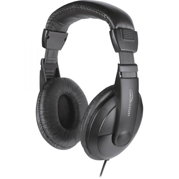 Compucessory Volm. Cntrl Cushion Stereo Headphones