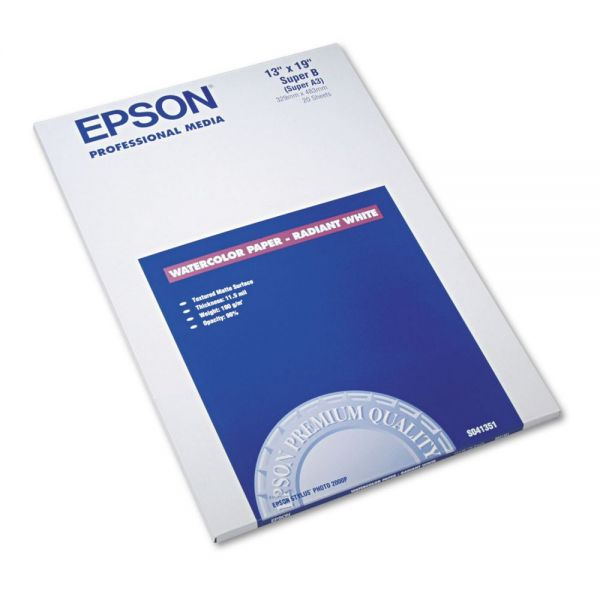Epson Professional Media Watercolor Inkjet Paper