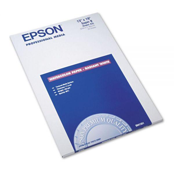 Epson Professional Media Watercolor Inkjet Paper