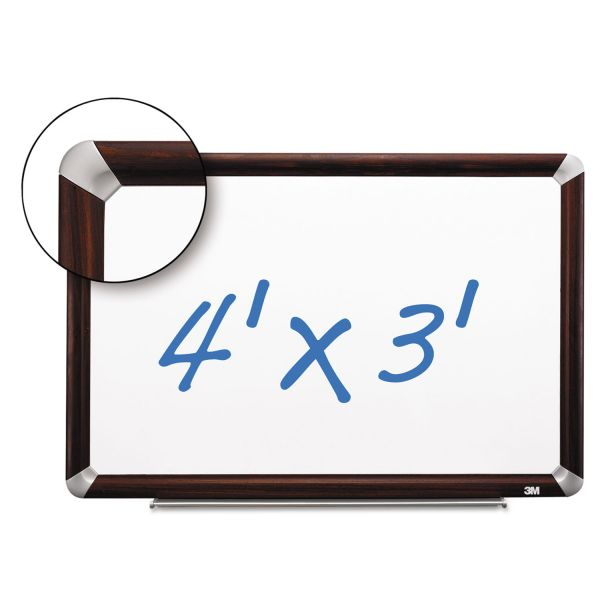3M 4' x 3' Magnetic Dry Erase Board