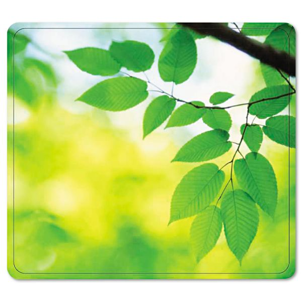 Fellowes Recycled Mouse Pad - Leaves