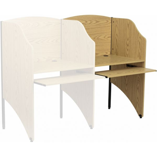 Flash Furniture Add-On Study Carrel