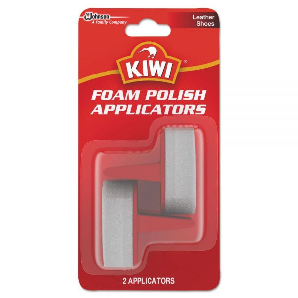 SC Johnson KIWI Foam Polish Applicators, White, 12/Carton