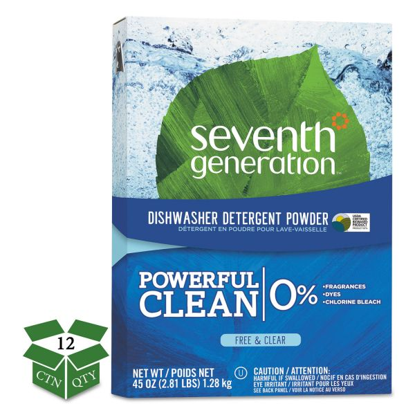 Seventh Generation Free & Clear Automatic Dishwasher Powder