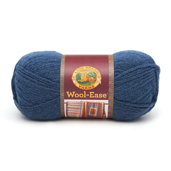 Lion Brand Wool-Ease Yarn - Denim