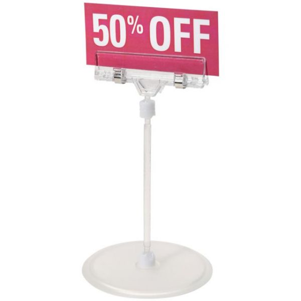 Small Sign Holder W/Stand 6.1""