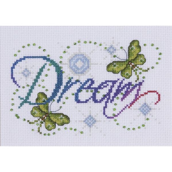 Dream Counted Cross Stitch Kit